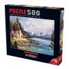 500 Parça Puzzle : Dağ Evi