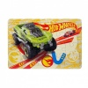 20 Parça Puzzle : Hot Wheels Yeşil Araba