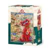 260 Parça Puzzle : Kırmızı Kedi