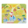 36 Parça Puzzle : Hello Kitty Hayvanat Bahçesinde