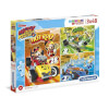 3x48 Parça Puzzle : Mickey and The Roadster Racers