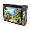 500 Parça Puzzle : Manzara
