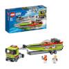 LEGO City Great Vehicles Yarış Teknesi Taşıyıcı 60254