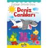 Deniz Canlıları Noktaları Birleştir-Boyama Kitabı