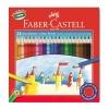 Faber Castell Kuru Boya Kalemi 24 Renk