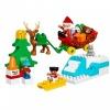 LEGO DUPLO Noel Baba'nın Kış Tatili 10837