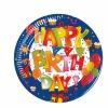 Happy Birthday 8'li Tabak