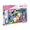 24 Parça Maxi Puzzle : Disney Prensesler Mulan