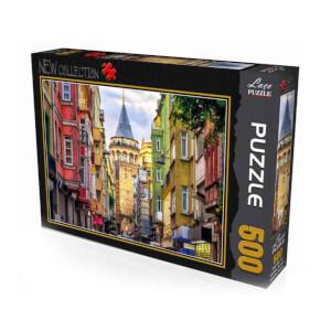 500 Parça Puzzle : Galata Kulesi