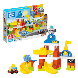 Mega Bloks Peek A Blocks Okul Binası GRJ19