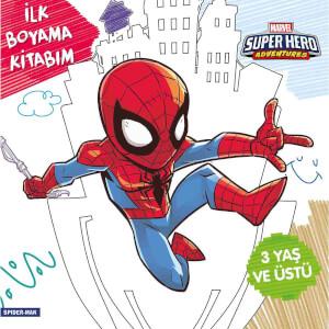 İlk Boyama Kitabım: Spider-Man