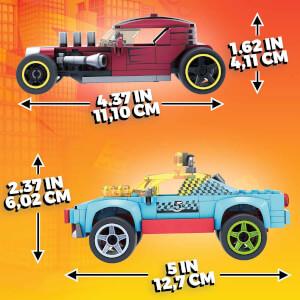 Mega Construx Hot Wheels Aksesuarlı 4'lü Araç Seti GVM13