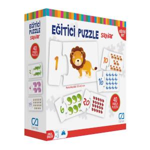 Eğitici Puzzle Sayılar 40 Parça