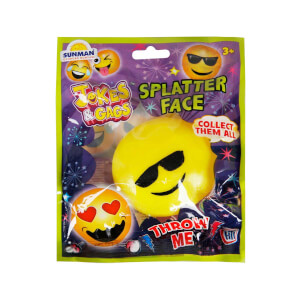 Emoji Yapışkan Top
