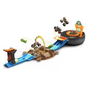 Hot Wheels Monster Trucks Akrobasi Tekerleği Oyun Seti GVK48