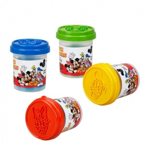 Fun Dough Mickey Mouse 4'lü Oyun Hamuru