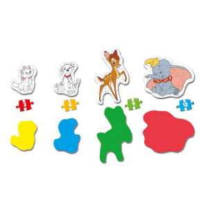 3-6-9-12 Parça Puzzle : My First Disney Classic