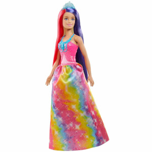 Barbie Dreamtopia Uzun Saçlı Bebekler GTF37