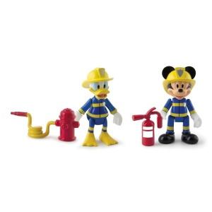 Mickey ve Donald İtfaiyeci Figür