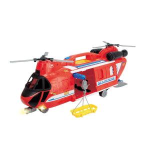 Sesli ve Işıklı Cankurtaran Helikopter 56 cm.
