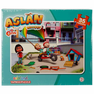 Aslan: 35 Parça Puzzle
