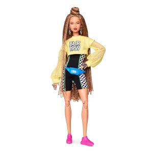 Barbie BMR1959 Koleksiyon Barbie Bebeği Şortlu Uzun Saçlı GHT91
