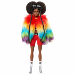 Barbie Extra Renkli Ceketli Bebek GVR04