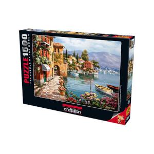 1500 Parça Puzzle : Villa De Lago