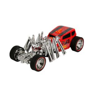 Hot Wheels Sesli ve Işıklı Monster Action Kırmızı Araba 22 cm.