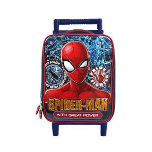 Spiderman Çekçekli Anaokul Çantası 5231