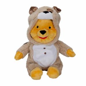 Winnie The Pooh Köpek Kıyafetli Peluş 30 cm.