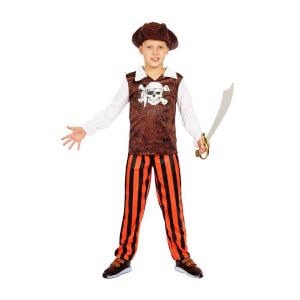 Korsan Şapkalı Erkek Kostüm M Beden