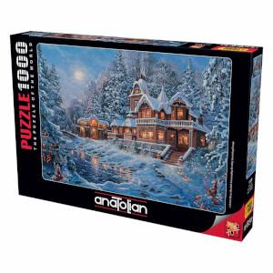 1000 Parça Puzzle : Sihirli Kış
