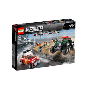 LEGO Speed Champions 1967 Mini Cooper S Ralli ve 2018 MINI John Cooper Works Buggy 75894