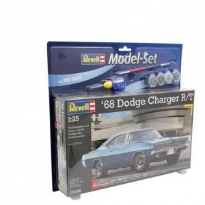 Revell 1:25 1968 Dodge Charger Model Set Araba