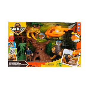 Sesli ve Işıklı Wild Quest Safari Oyun Seti