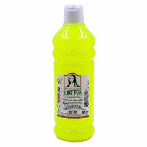 Sıvı Yapıştırıcı Slime Jeli Fosforlu Sarı 500 ml