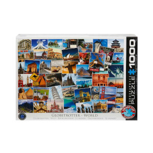 1000 Parça Puzzle : Globetrotter World