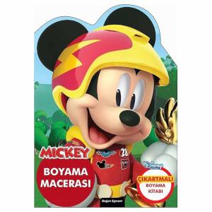 Disney Mickey Çılgın Yarışçı Boyama Macerası