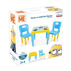 Minions 2'li Oyun Ve Aktivite Masası