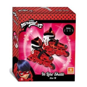 Miraculous Ladybug Inline 4 Teker Paten