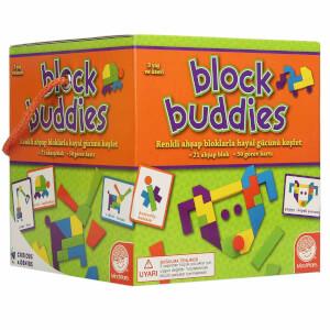 Block Buddies Ahşap Blok Oyunu 21 Parça