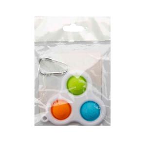 Push Pop Bubble Pop It Duyusal Oyuncak Özel Pop Stres Anahtarlık 3'lü