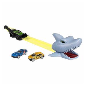 Teamsterz Köpekbalığı Saldırısı 3 Araçlı Pist Seti