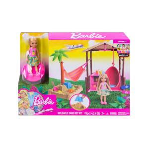 Barbie Seyahatte Chelseanin Kum Eğlencesi Oyun Seti FWV24