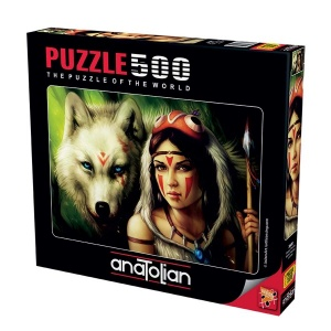 500 Parça Puzzle : Savaşçı Prenses