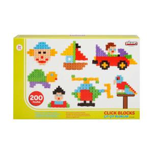 Pilsan 200 Parça Çıt Çıt Bloklar