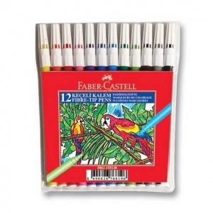 Faber Castell Keçeli Kalem 12 Renk