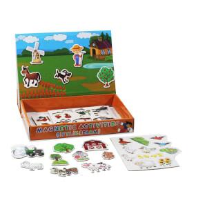 Manyetik Çiftlik Aktivite Oyun Seti 40 Parça