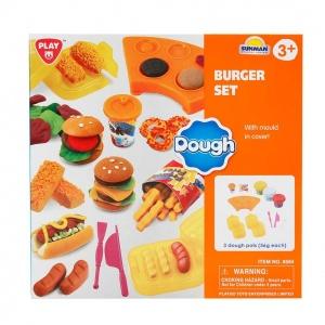 Hamburger Yapımı Oyun Hamur Seti